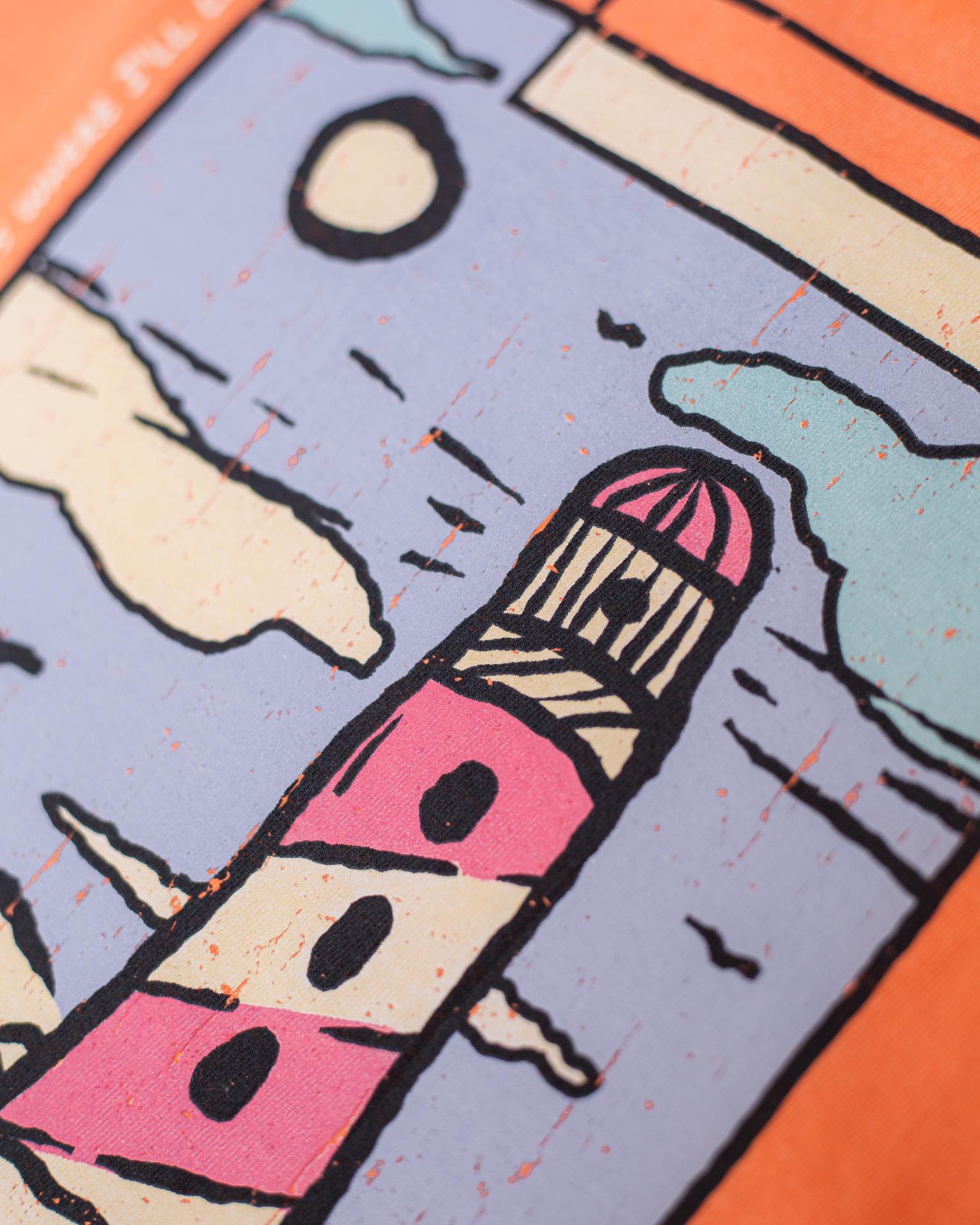 Melon Asbury Lighthouse Long Sleeve