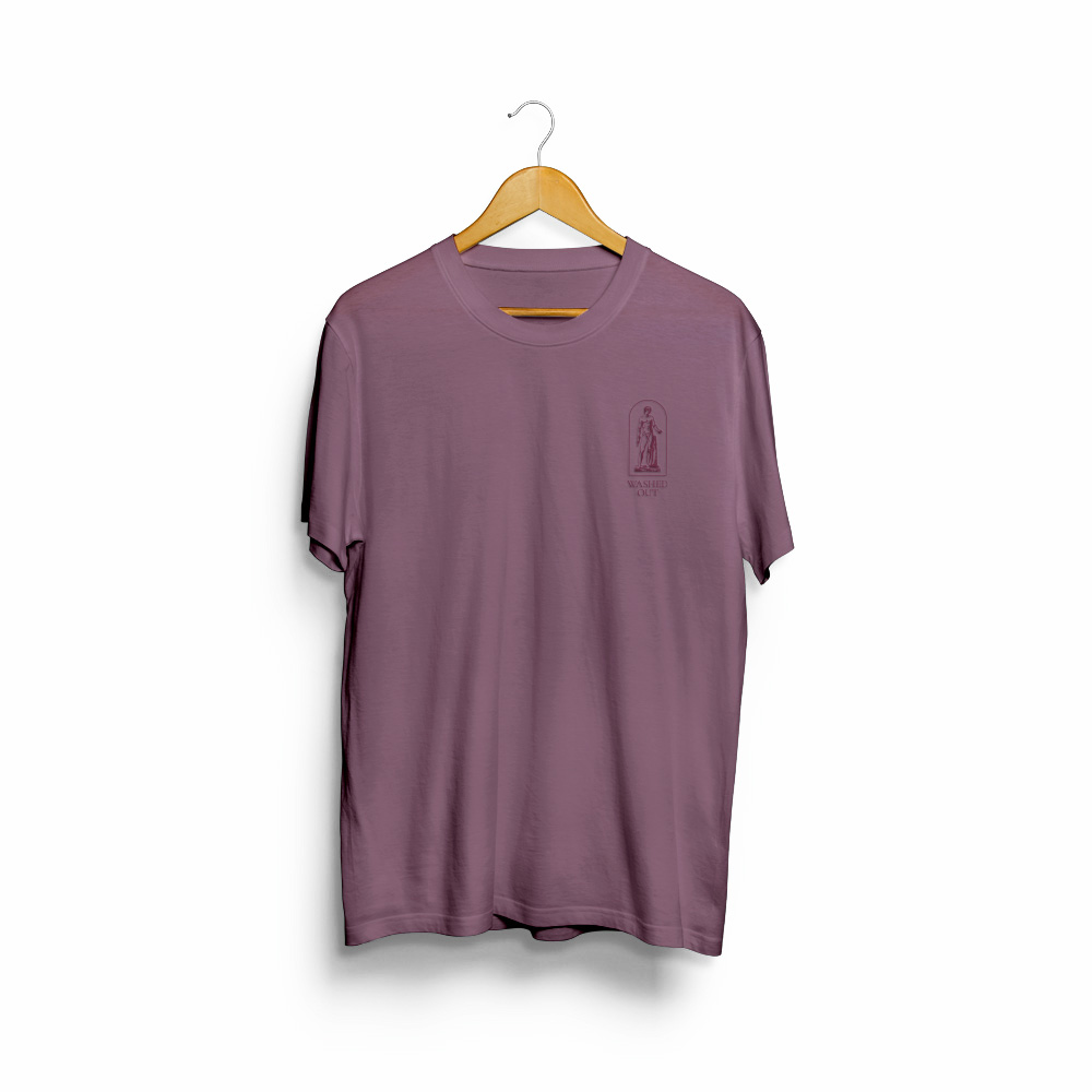 Purple Noon Embroidered Tee - Limited Edition
