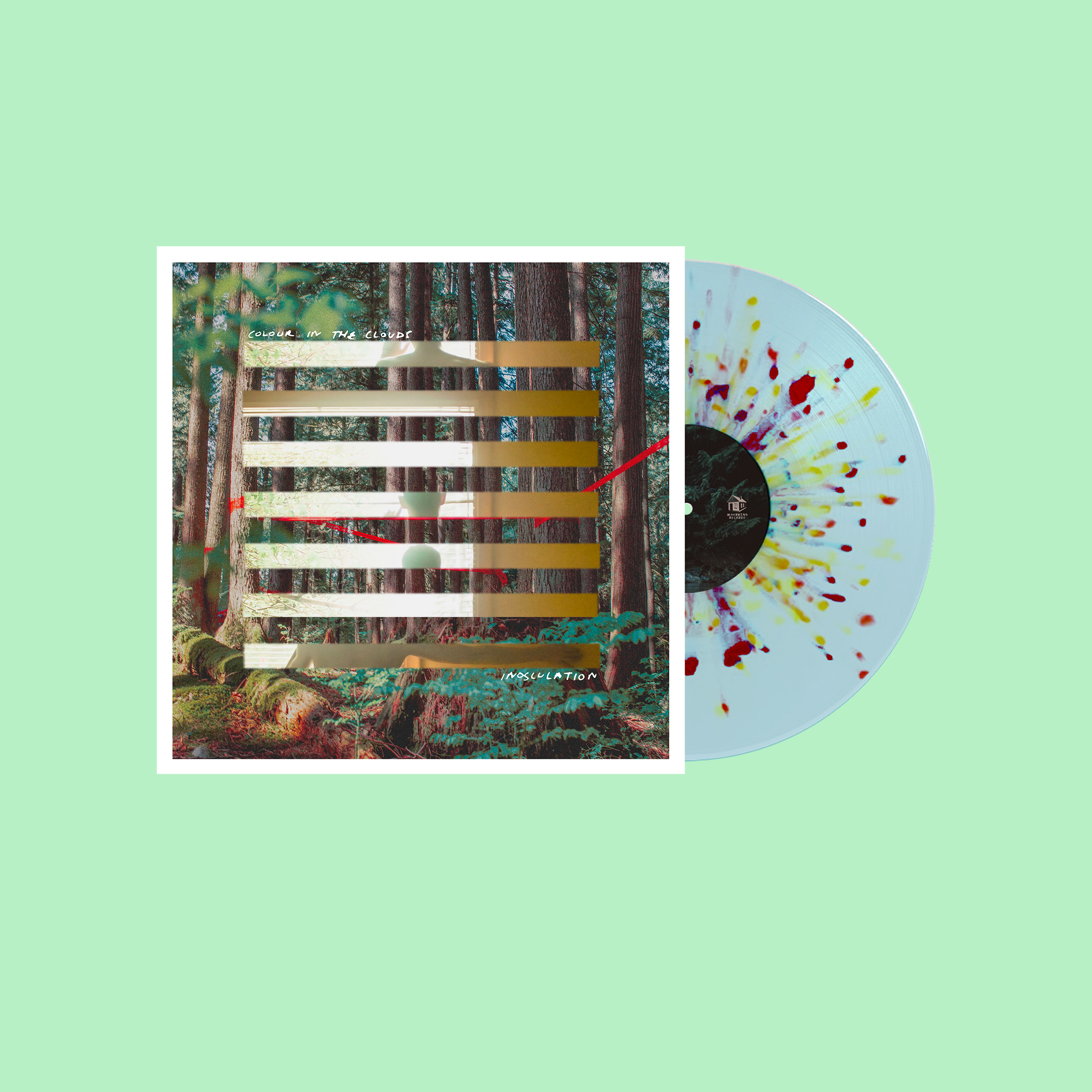 "Colour in the Clouds ""Inosculation"" Autumn Leaves in Clearwater Vinyl (Pre-Order)"