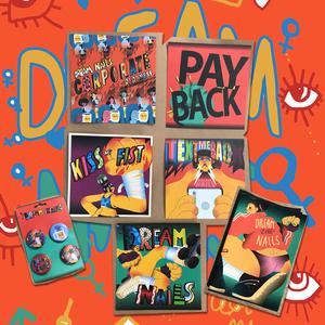 Dream Nails - DIY Bundle (Download, Badges, Postcards and optional signed Zine)