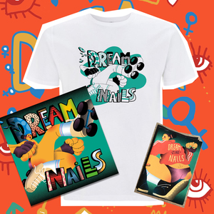Dream Nails - This Is the Summer Bundle (Album, Shirt and Signed Zine)