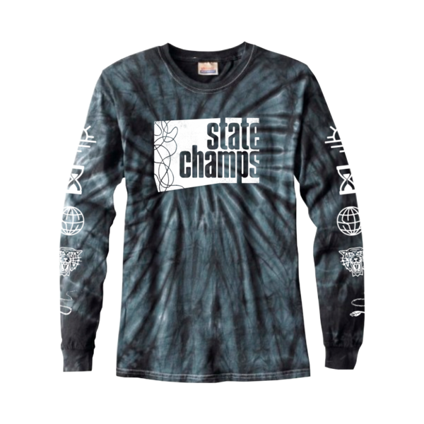 Wire Block Tie Dye Long Sleeve