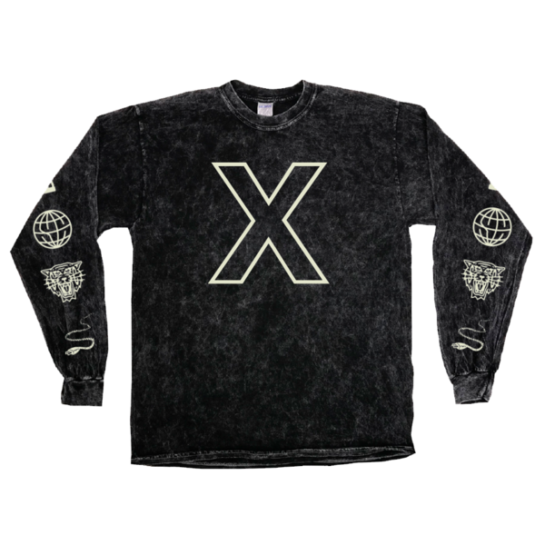 X Mineral Wash Long Sleeve