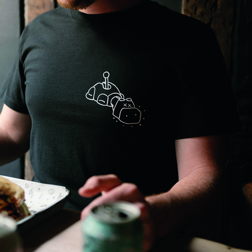 XX Hippo T-Shirt (Black)