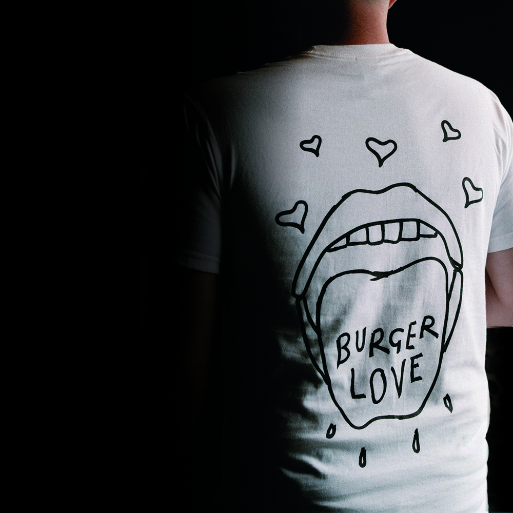Burger Love T-Shirt (White)
