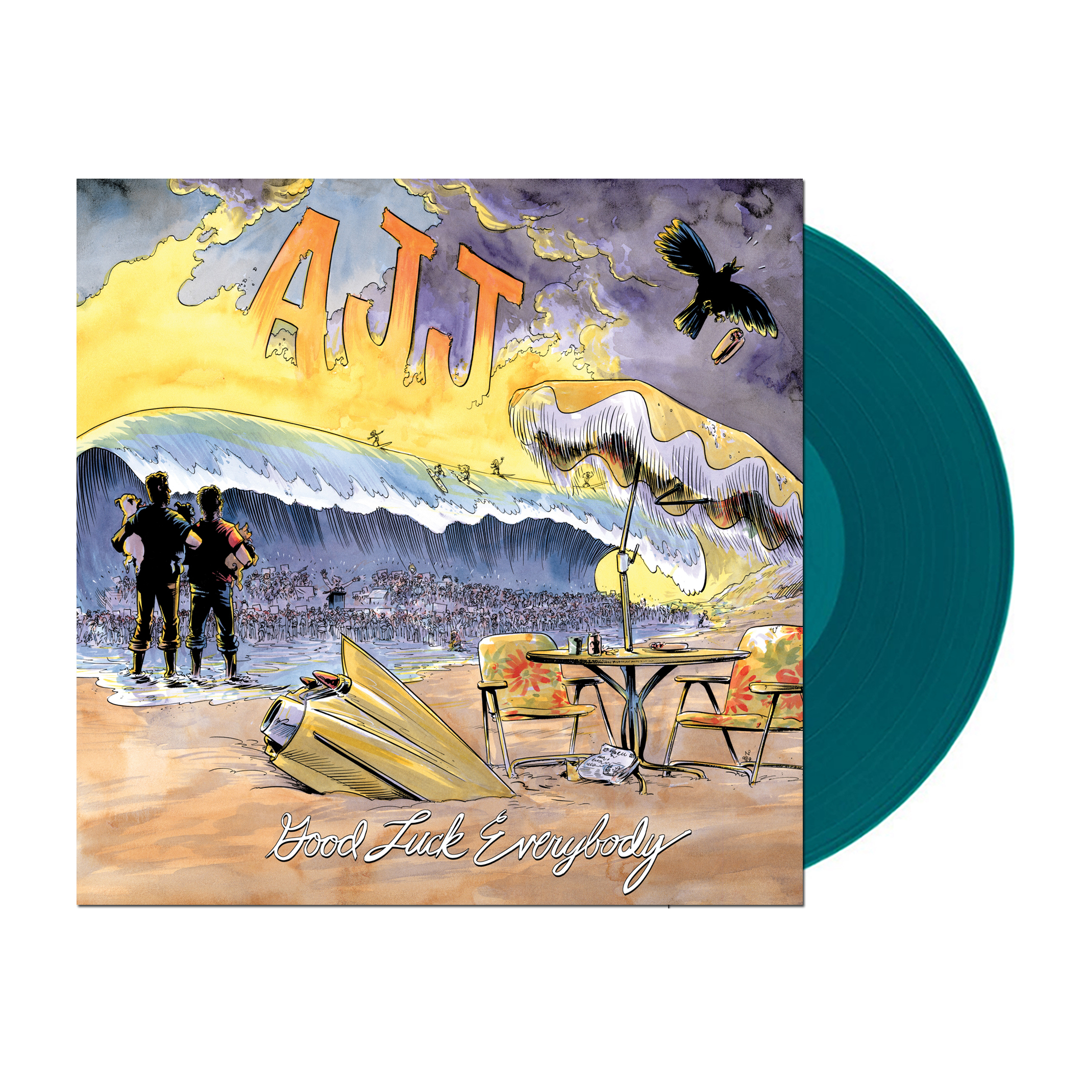 AJJ - Good Luck Everybody LP / CD