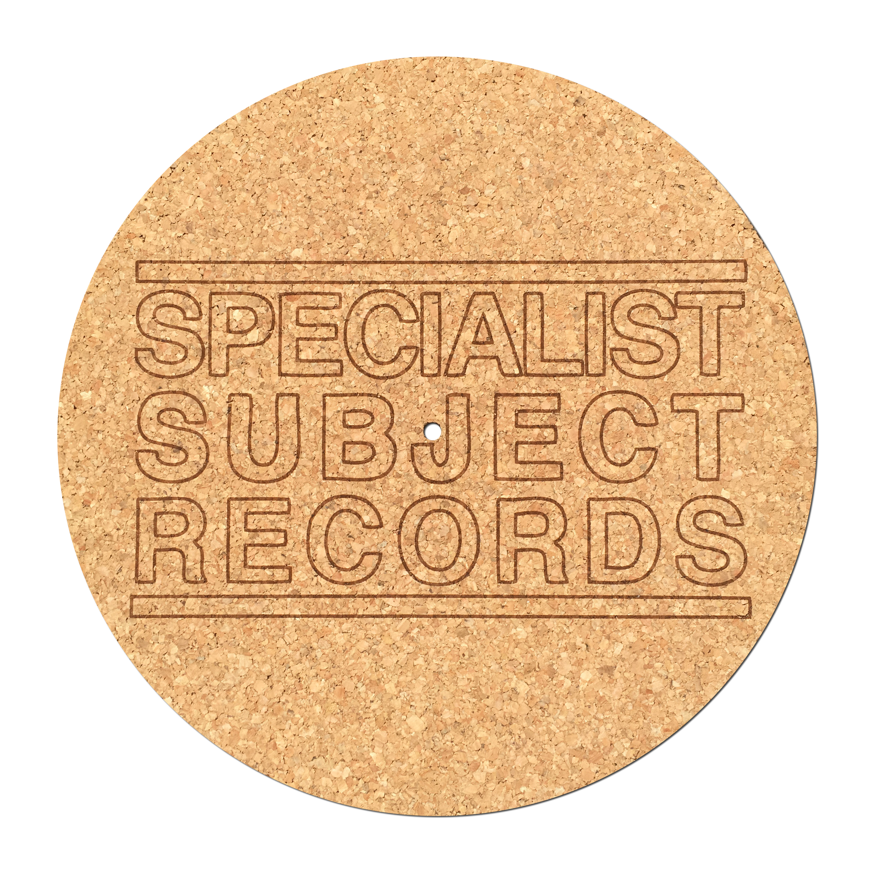 Specialist Subject Cork Slipmat