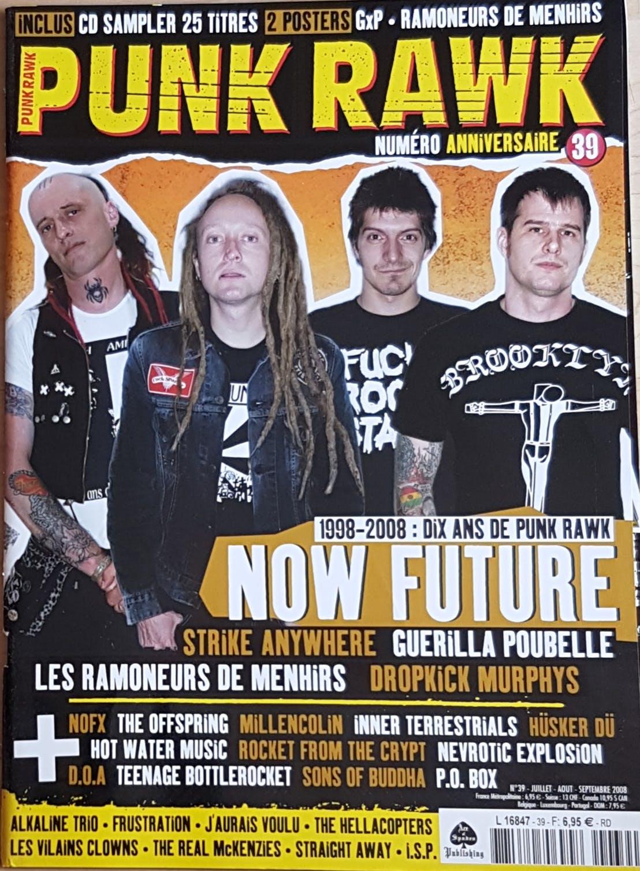 Punk Rawk 39 - numero anniv (zine + CD)