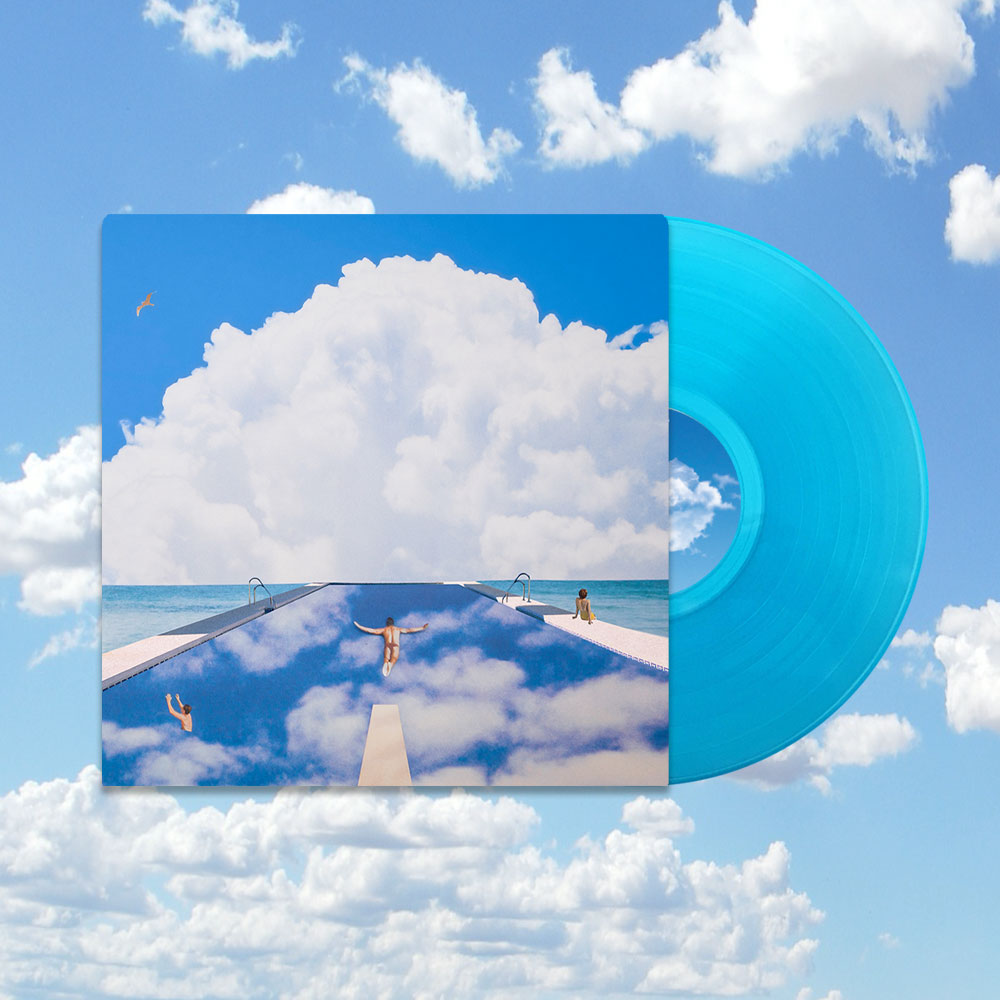 Everything Changes In The End - Blue Vinyl