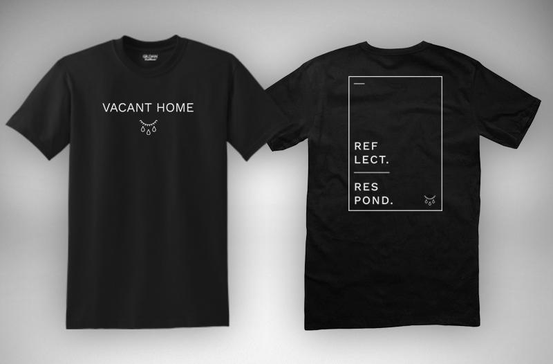 Vacant Home Logo Shirt (Black)