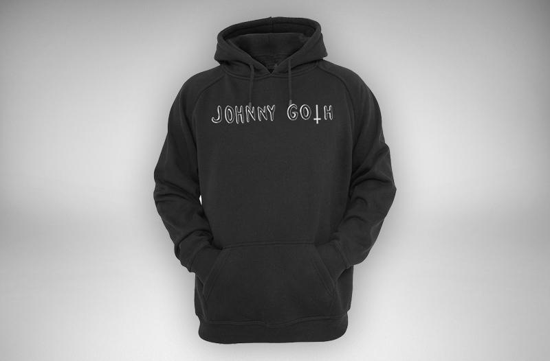 Johnny Goth Logo Hoodie