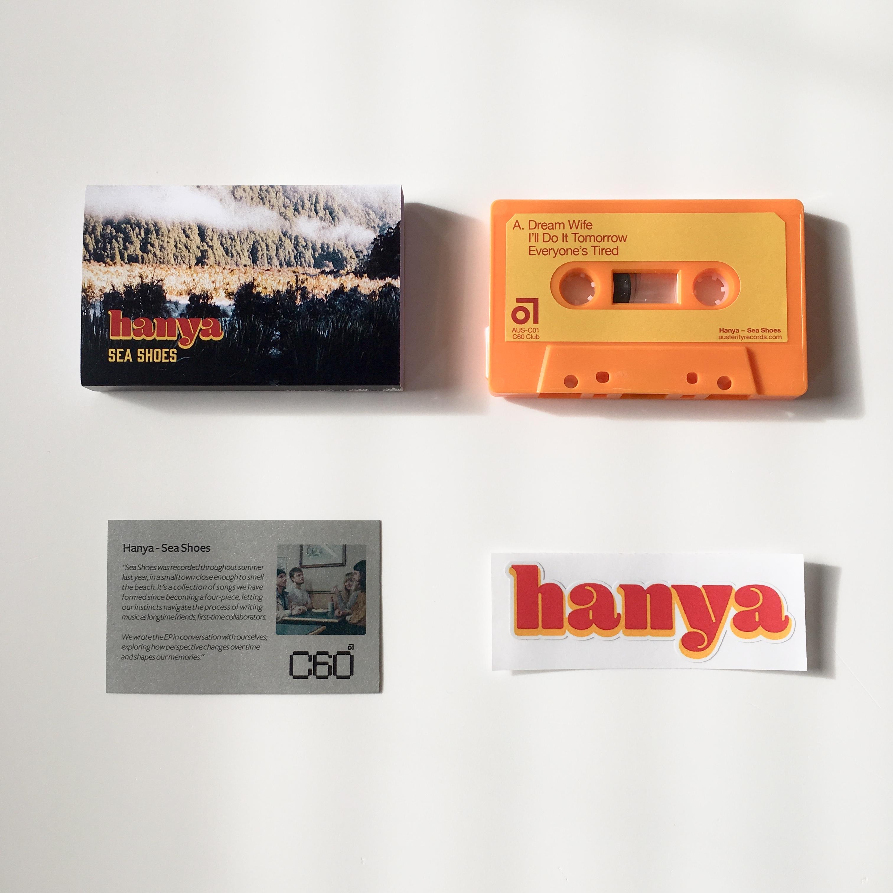 Hanya - Sea Shoes (Very limited orange cassette)