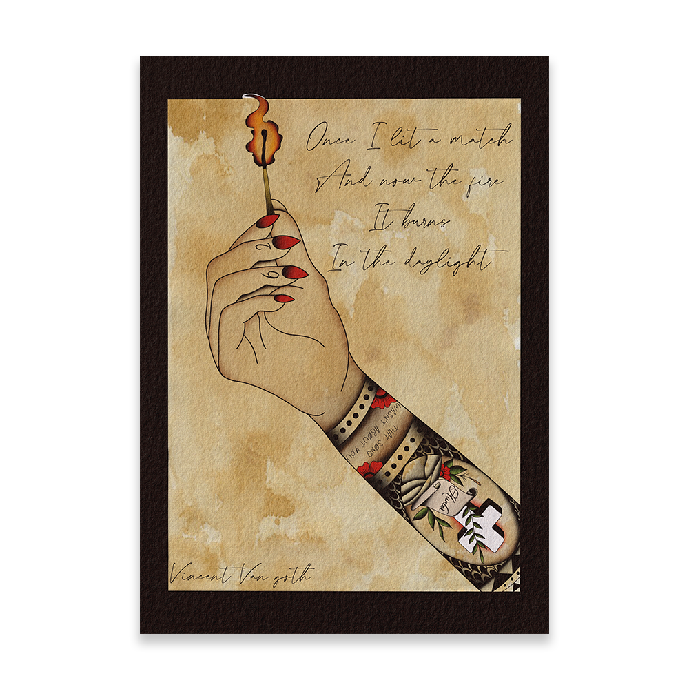 Cold Years - Tattoo Print