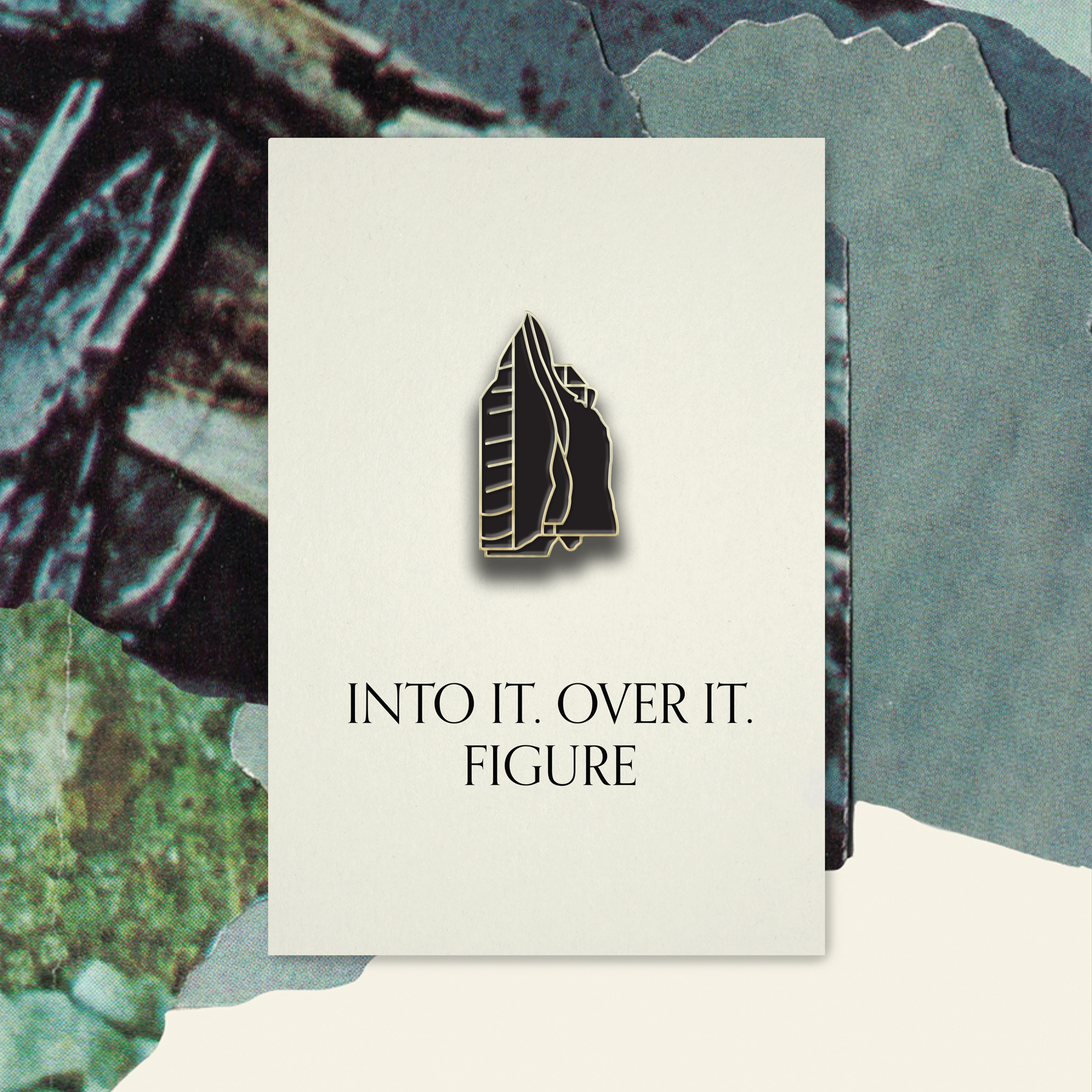 Into It. Over It. - Wagers Pin