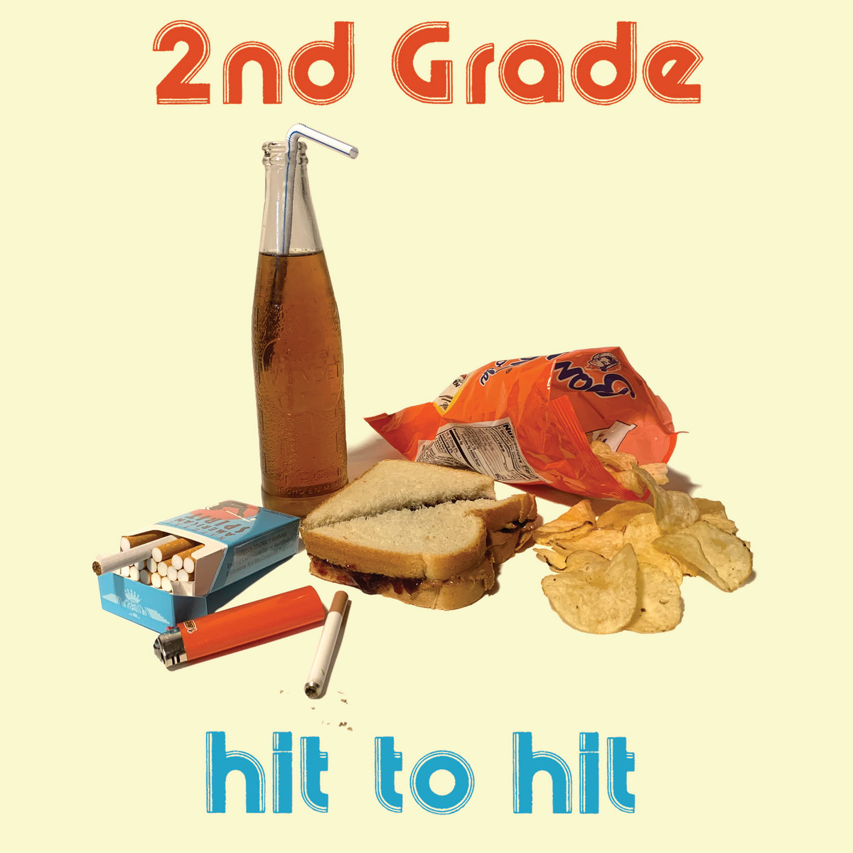 2nd Grade - Hit To Hit LP