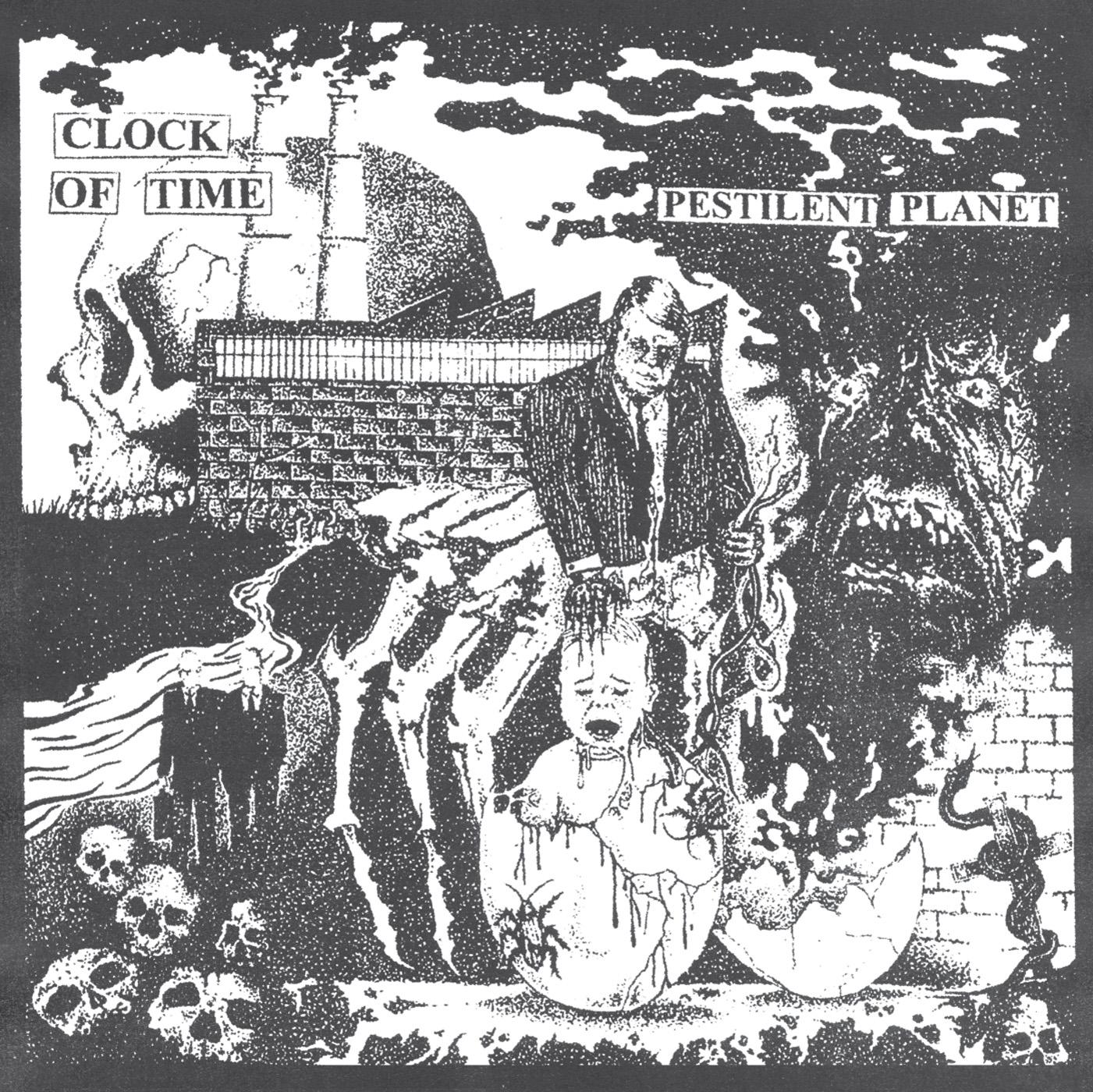 CLOCK OF TIME - Pestilent Planet LP