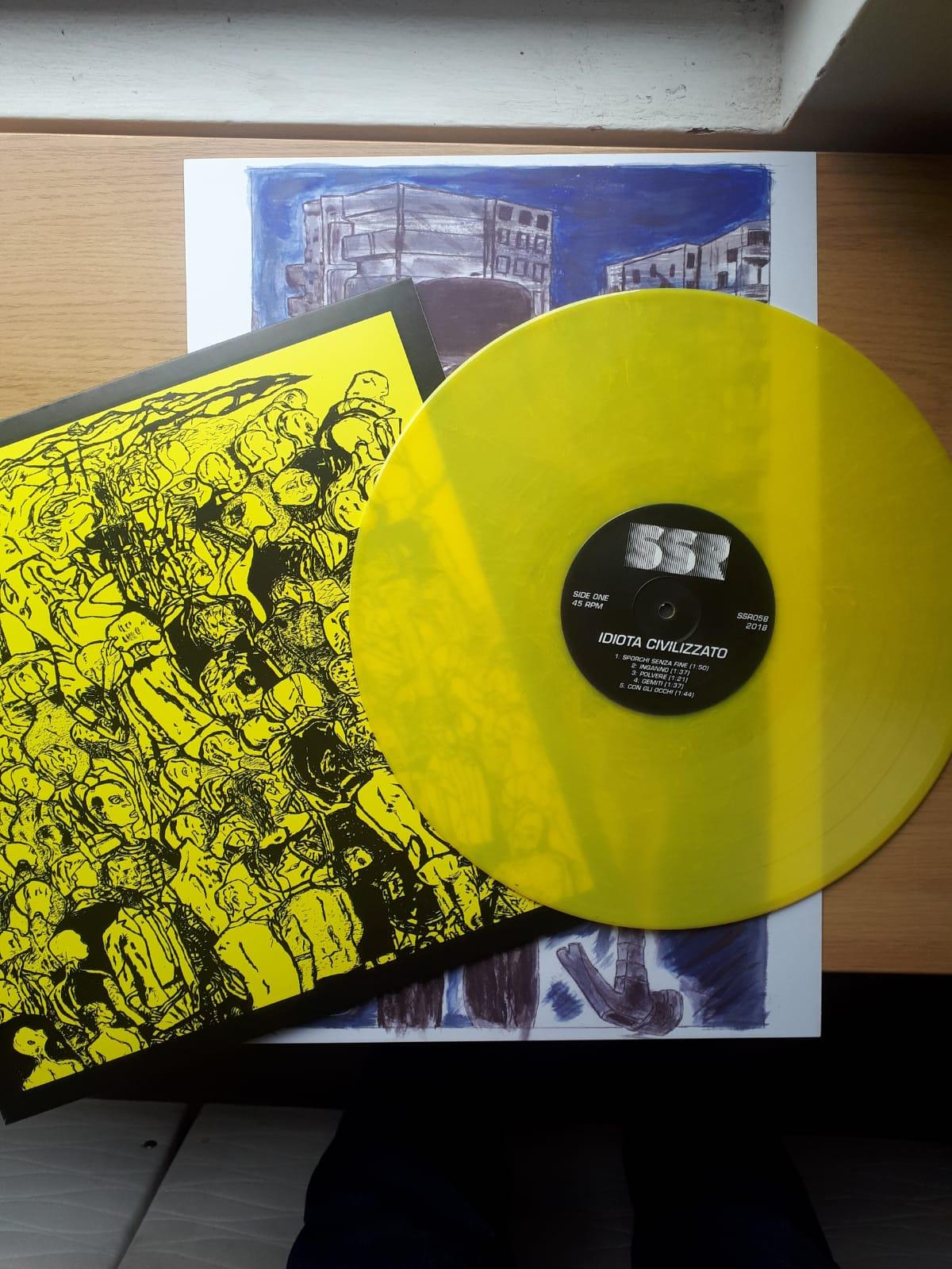 IDIOTA CIVILIZZATO - Idiota Civilizzato - Yellow Vinyl LP