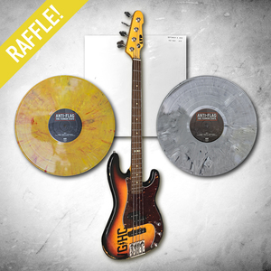Anti-Flag - BASS GUITAR (Played by #2) / Terror State Test Press Raffle