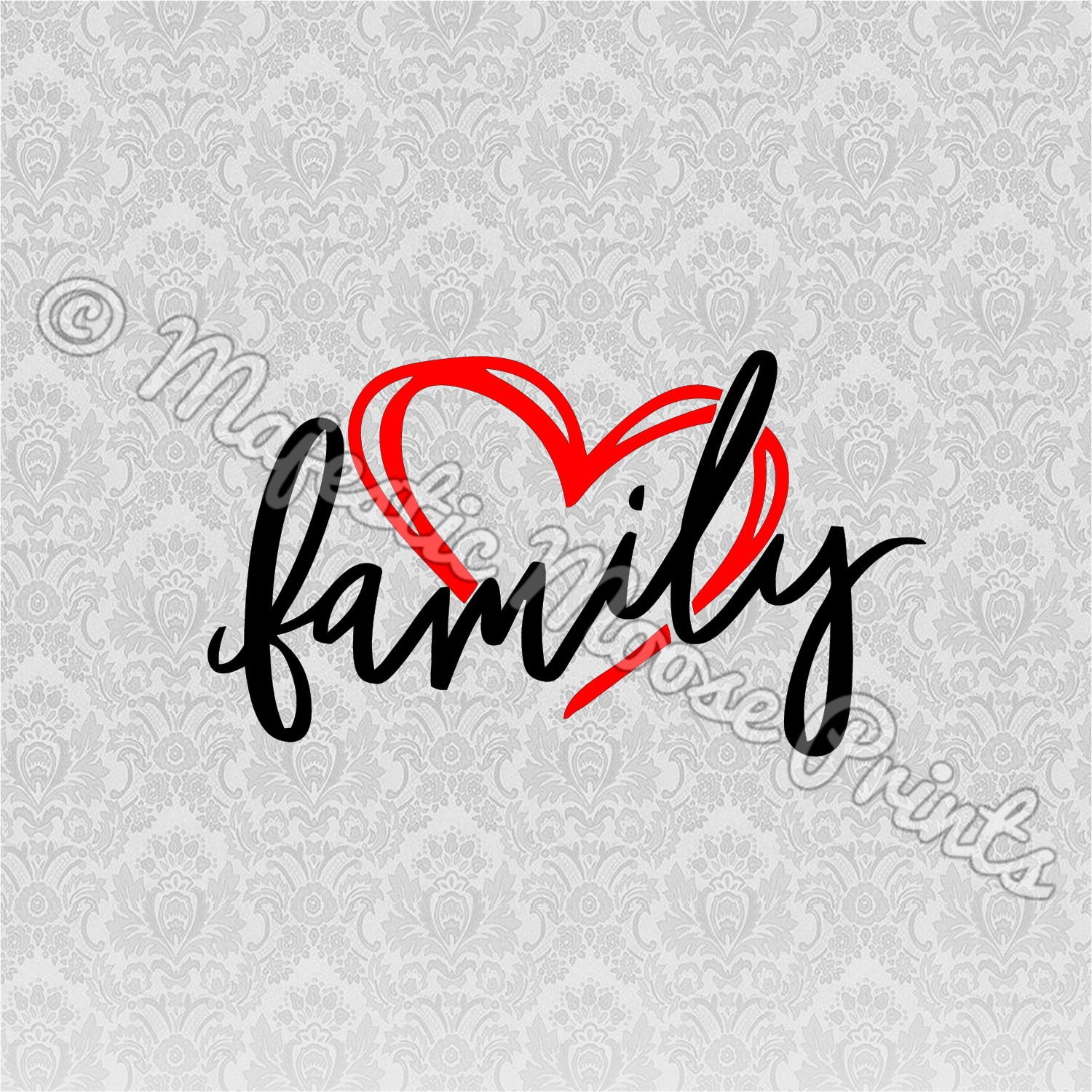 Family Heart SVG