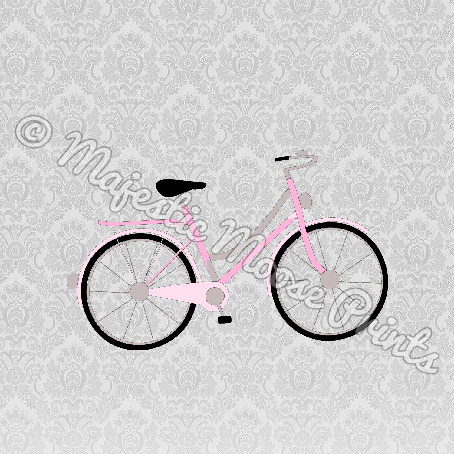 Vintage Bicycle SVG