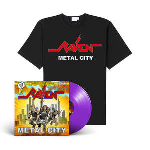 Raven - Metal City (LP + Shirt