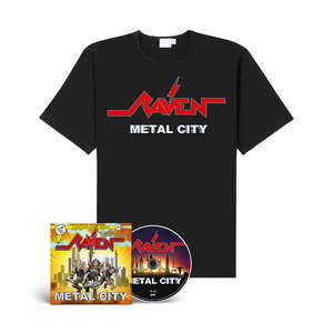Raven - Metal City (CD + Shirt