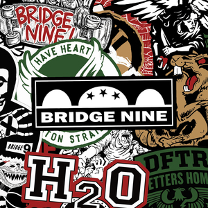 Bridge Nine 25th Year Anniversary Sticker Pack (formerly Mystery Item #1)