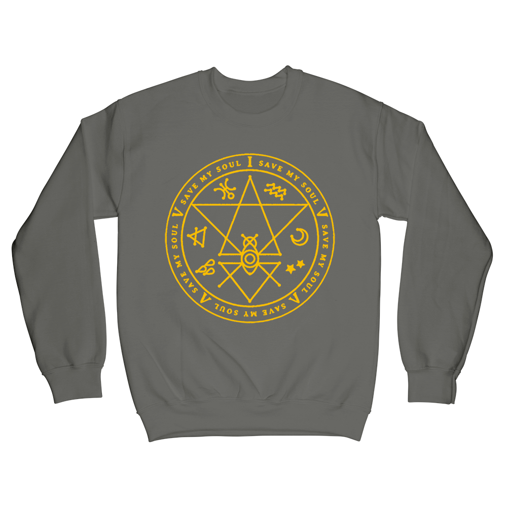 Wytch Seal Crewneck - Grey