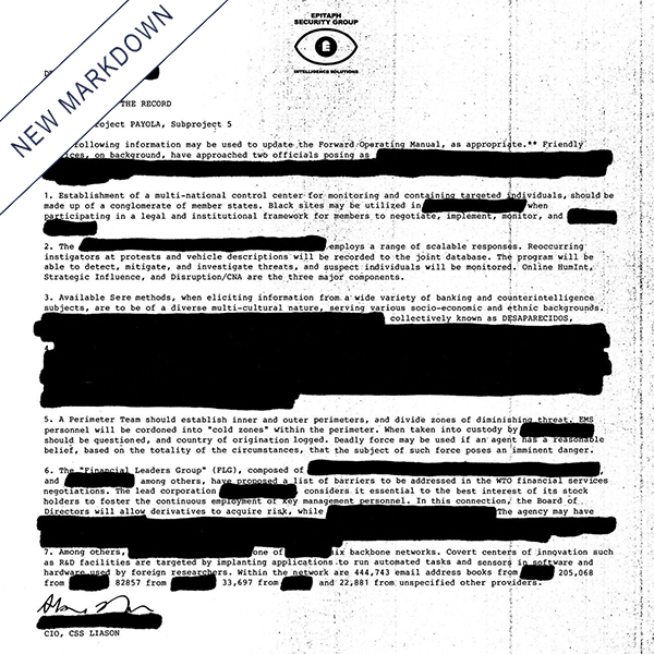 Desaparecidos - Payola LP *Markdown*