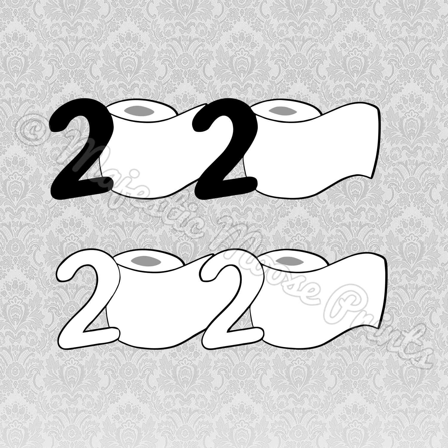 2020 Year of Toilet Paper SVG