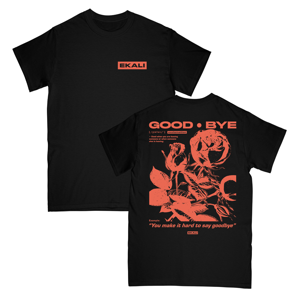Goodbye Tee - Black