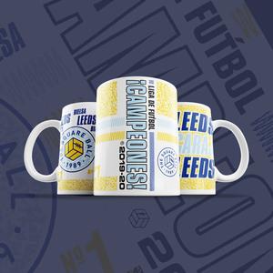 Liga de Fútbol Campeones Retro Mug