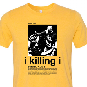 Buried Alive 'I Killing I Yellow' T-Shirt