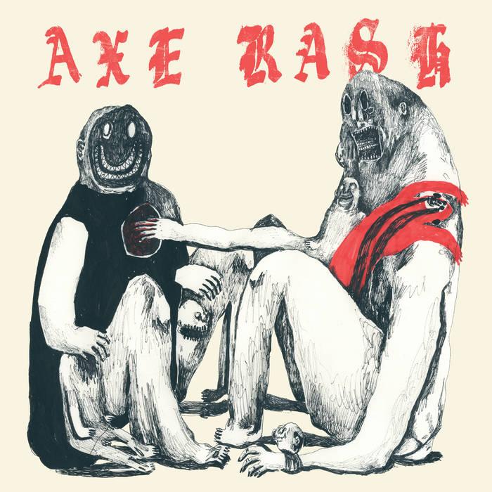 AXE RASH - S/T LP