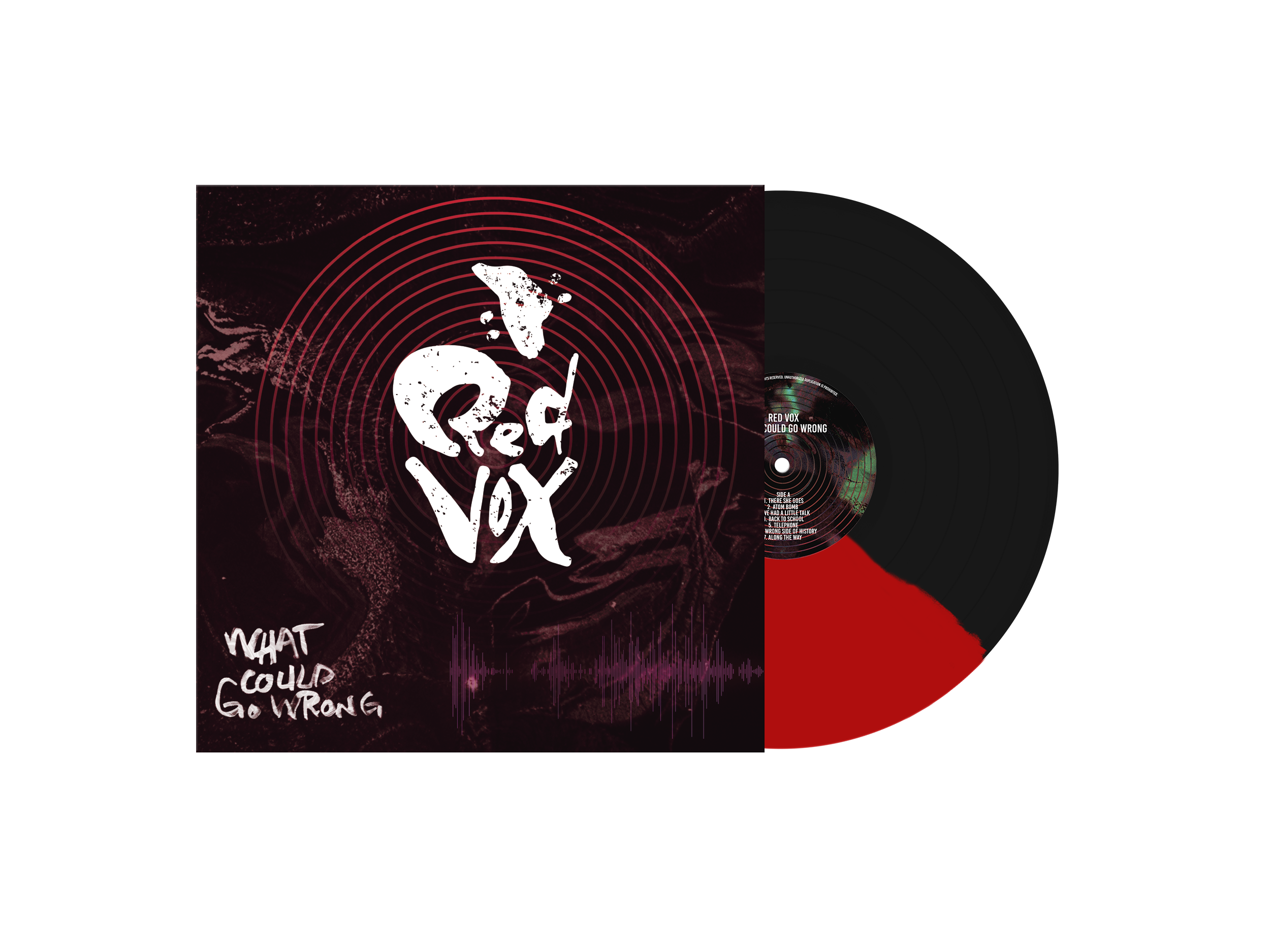 What Could Go Wrong - Red/Black Vinyl