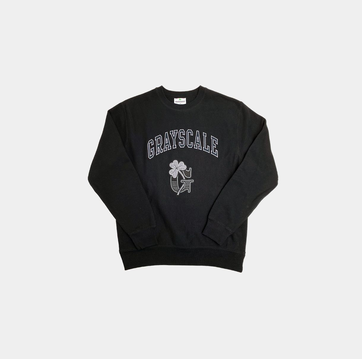 Blackout Shamrock Crewneck