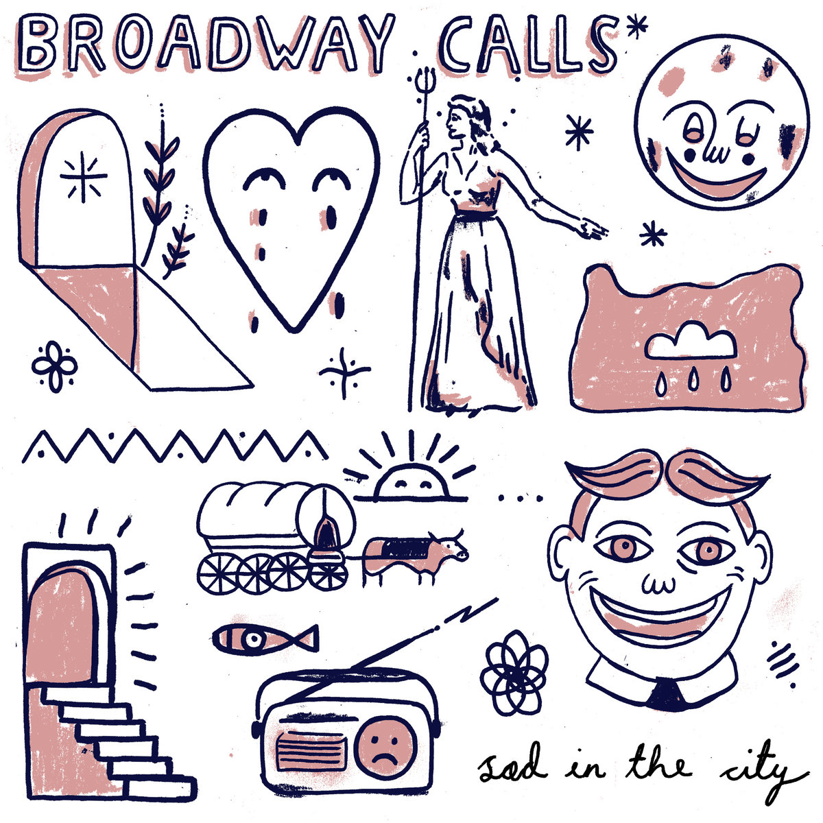 Broadway Calls - Sad In The City LP