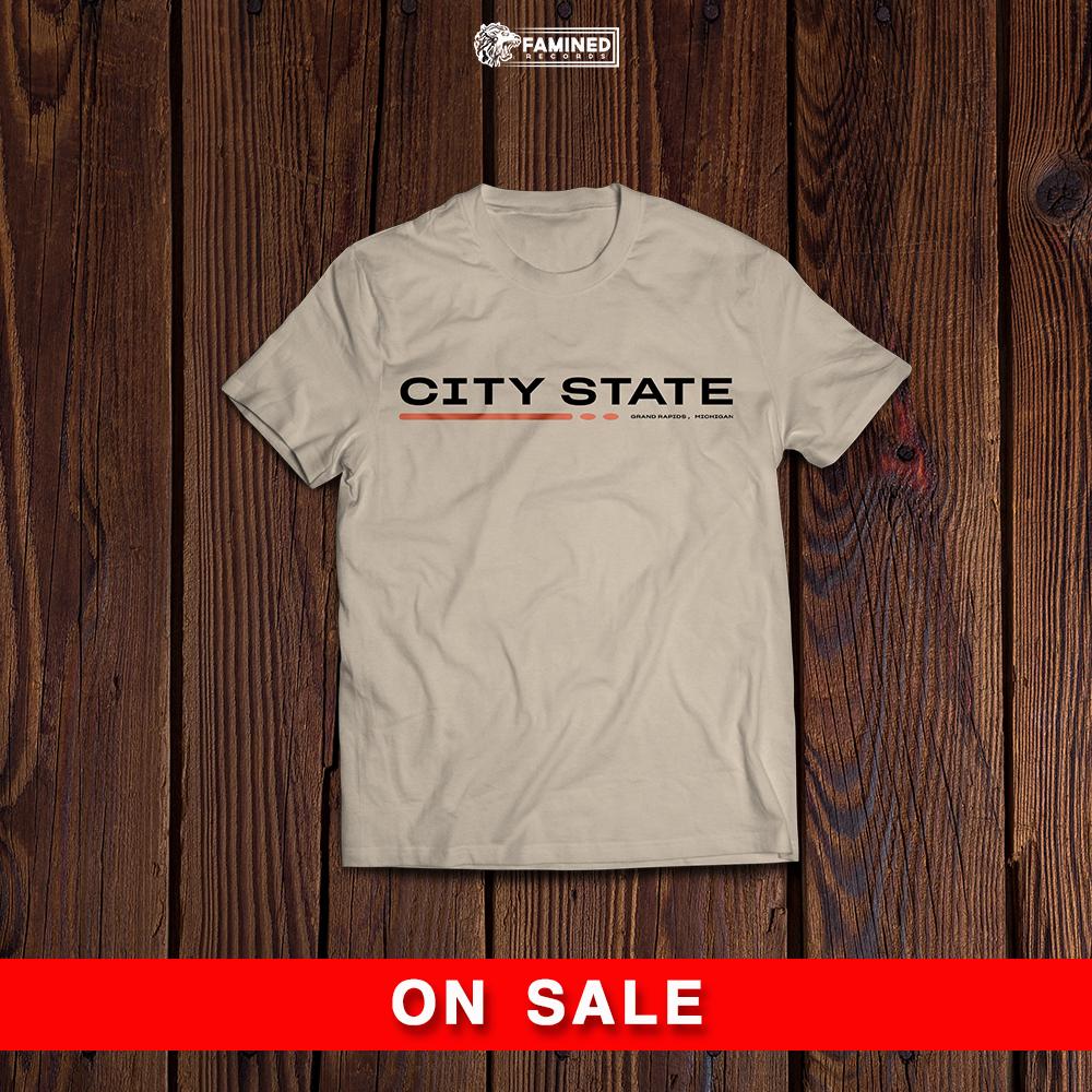 City State - Sand Equinox T-shirt
