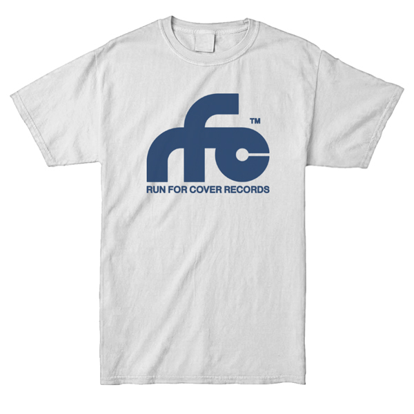 Run For Cover – Logo Shirt (White)