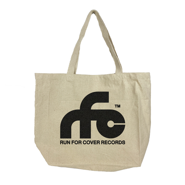 Run For Cover - Logo Canvas Tote Bag