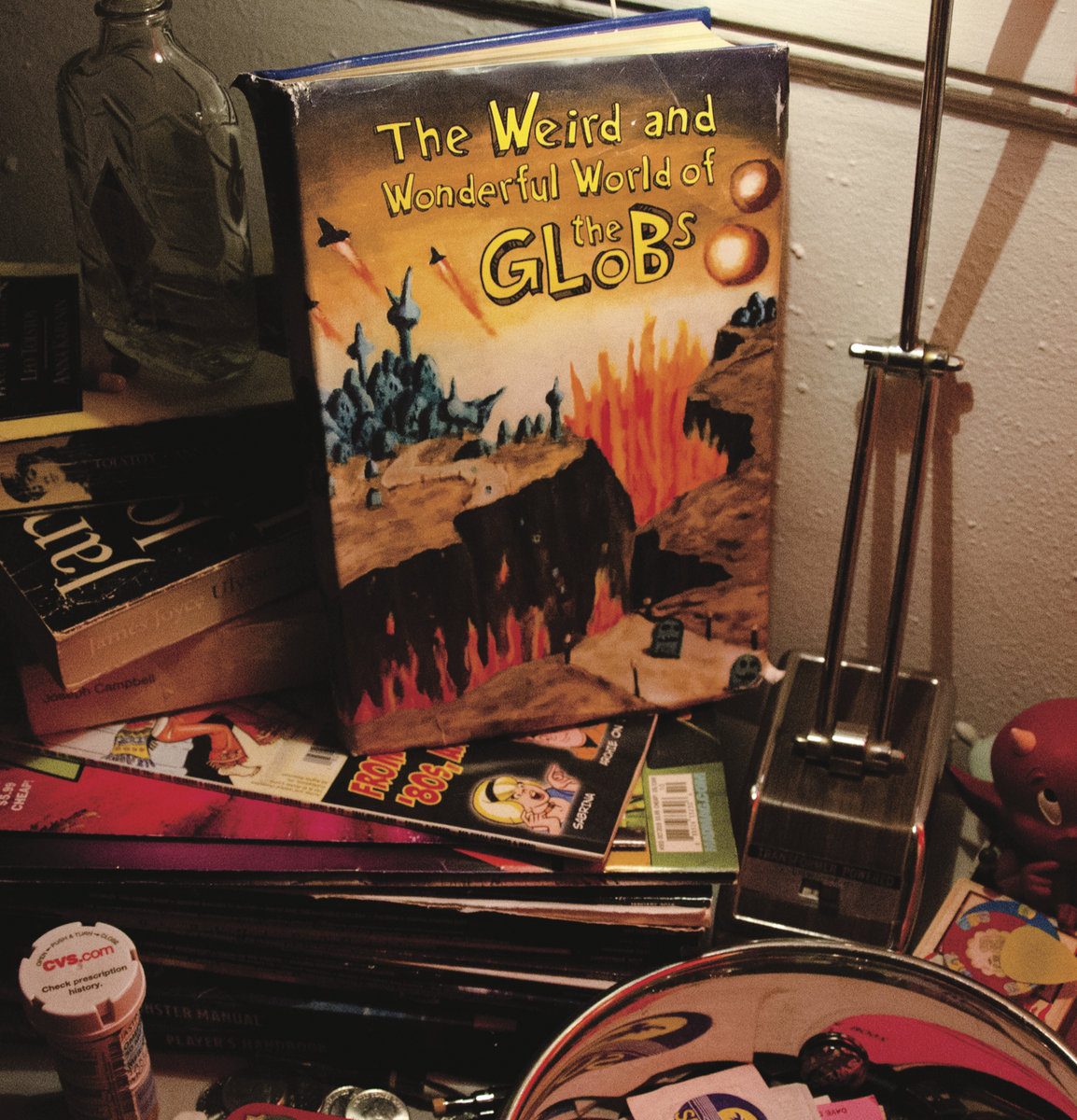 The Globs - The Weird and Wonderful World of The Globs LP