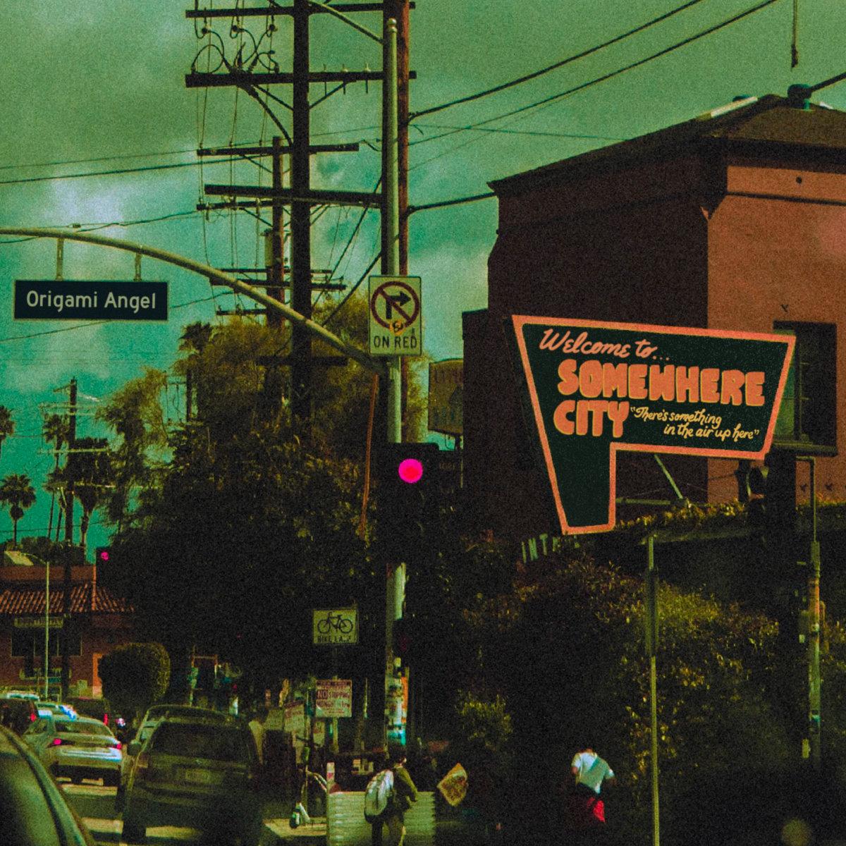 Origami Angel - Somewhere City LP