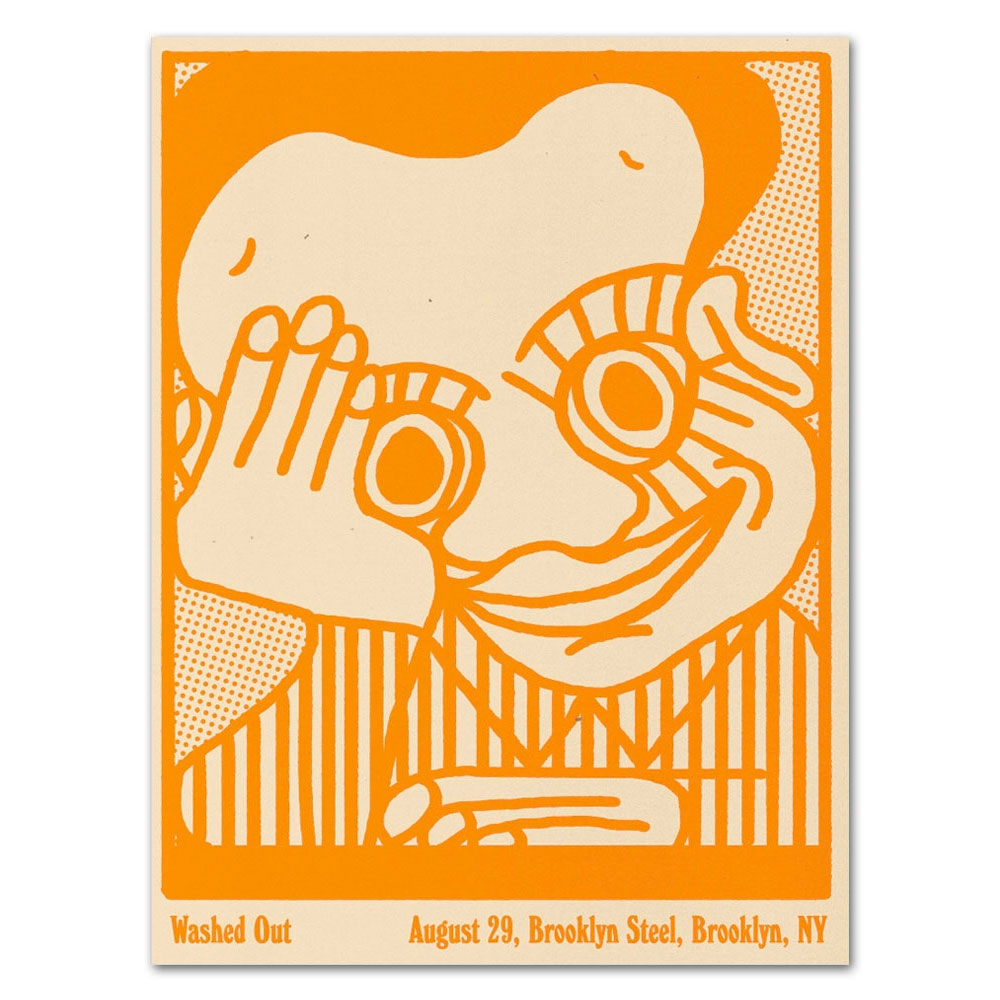 Brooklyn Steel 8/29/17 Brooklyn, NY Poster