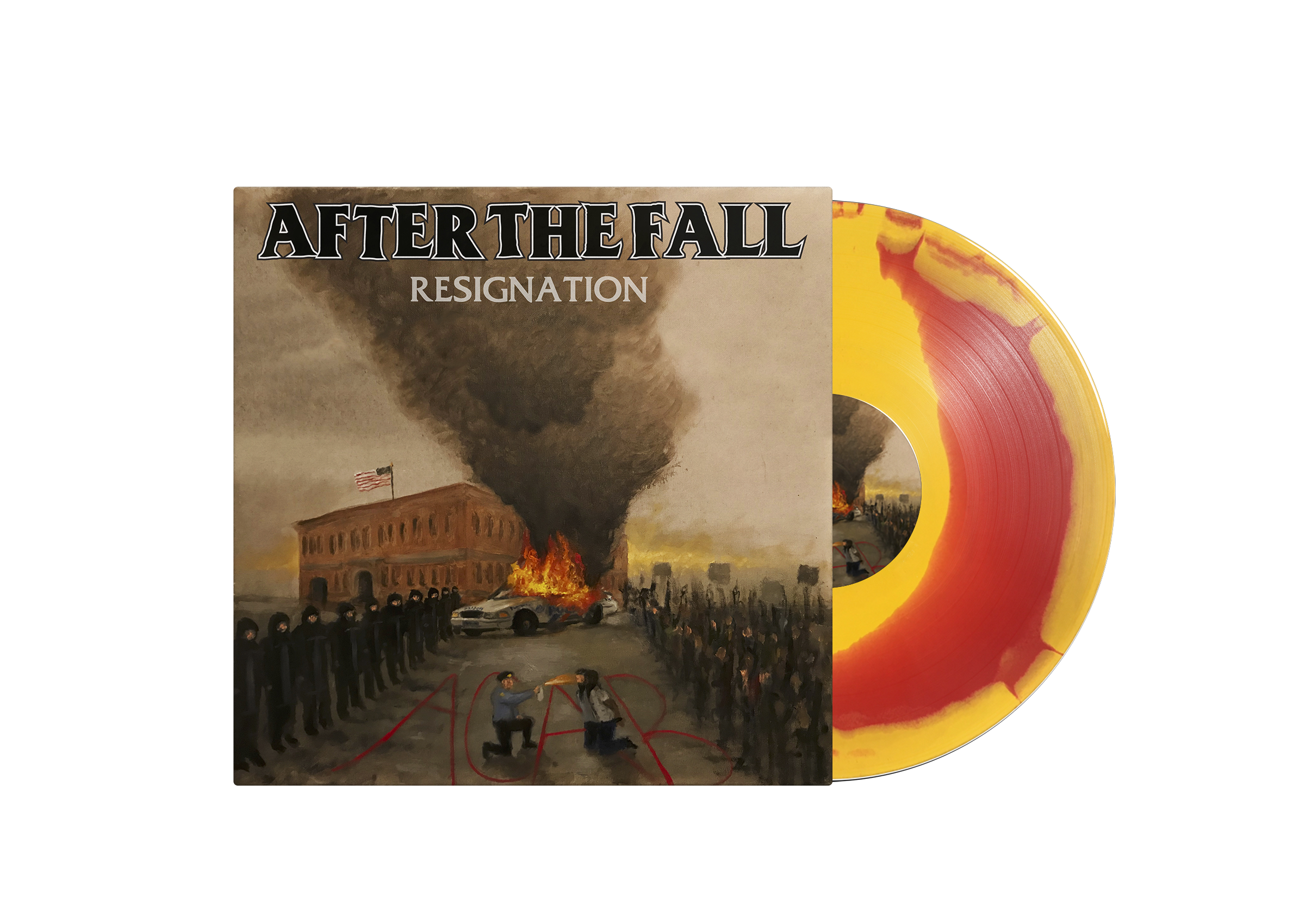 AFTER THE FALL - RESIGNATION LP / CD & SHIRT BUNDLES