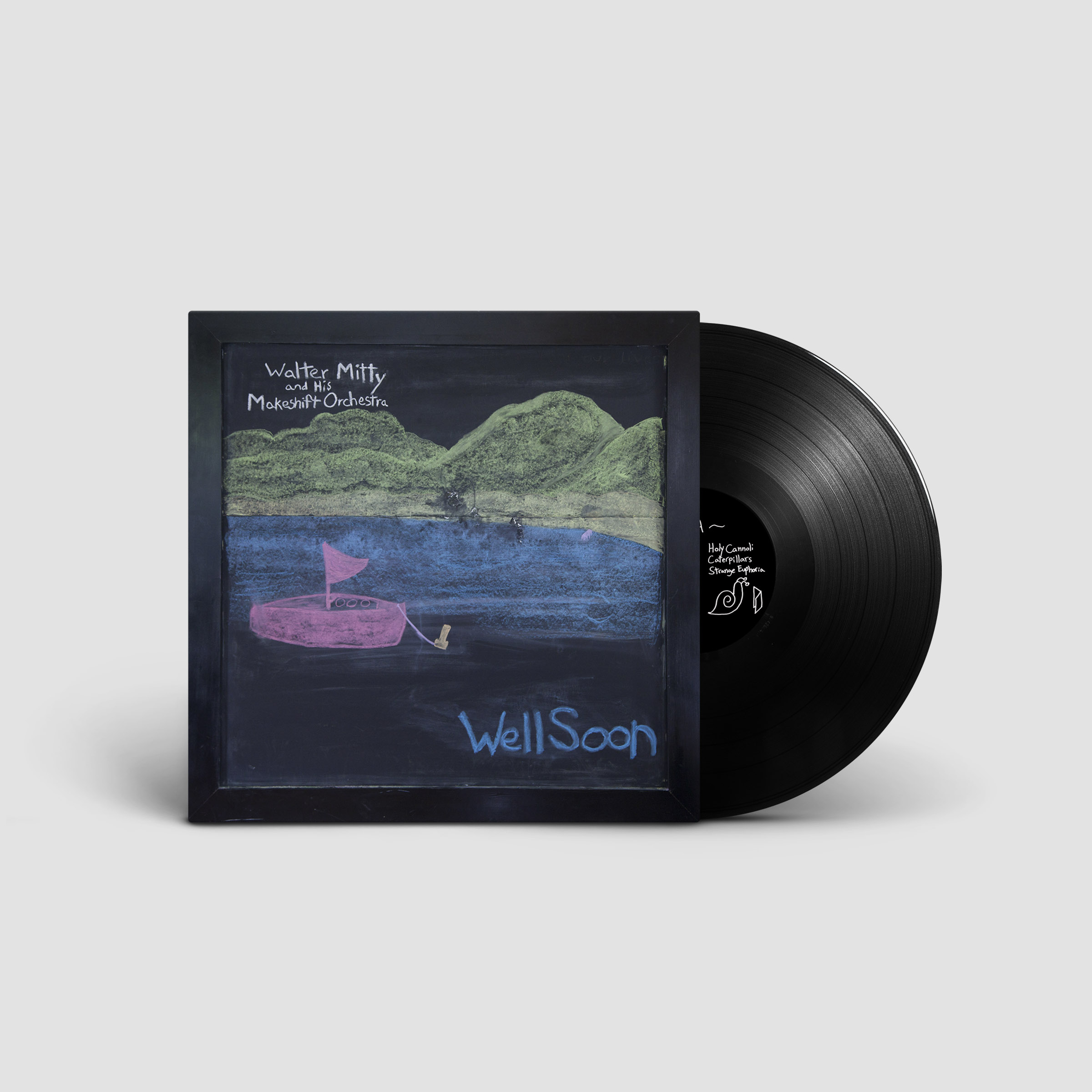 Walter Mitty and His Makeshift Orchestra - Well Soon LP/CS