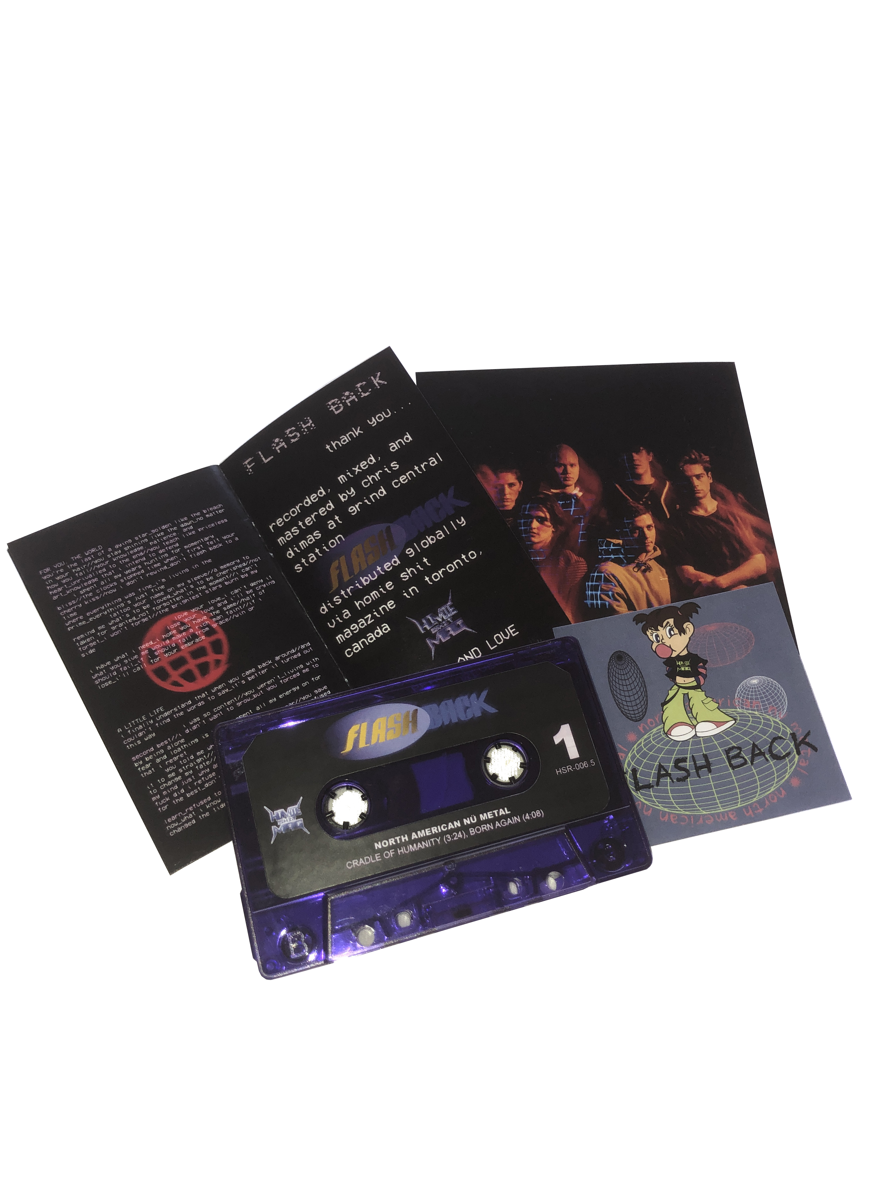 Flash Back - North American Nü Metal Cassette