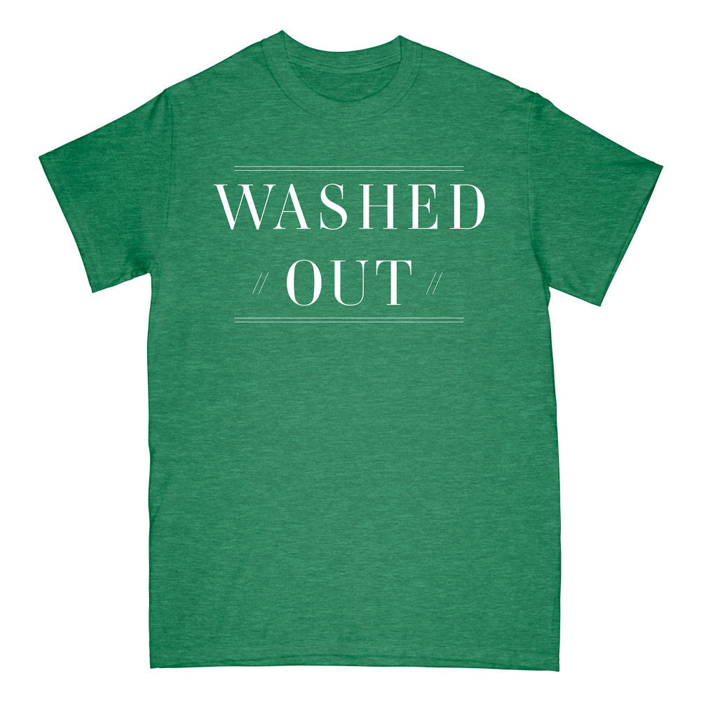 Text on Green Tee