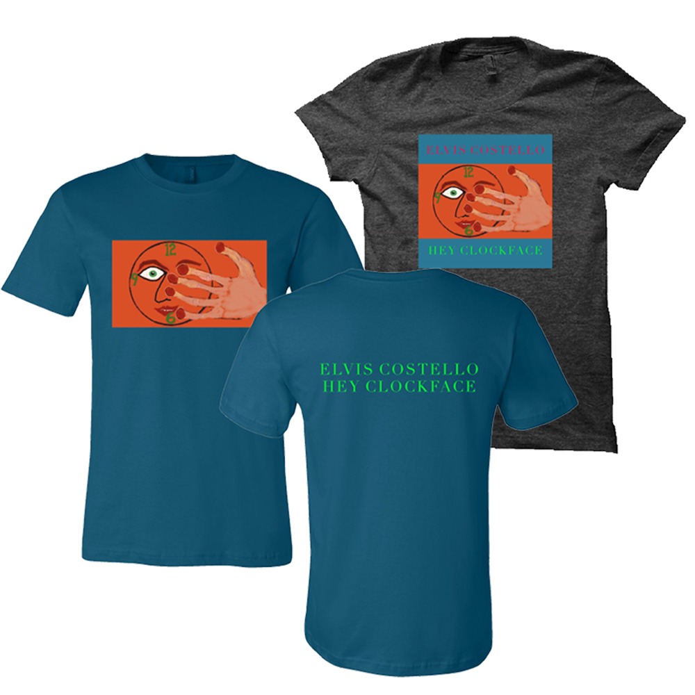 Teal or black heather tees (choice) + album download (optional)