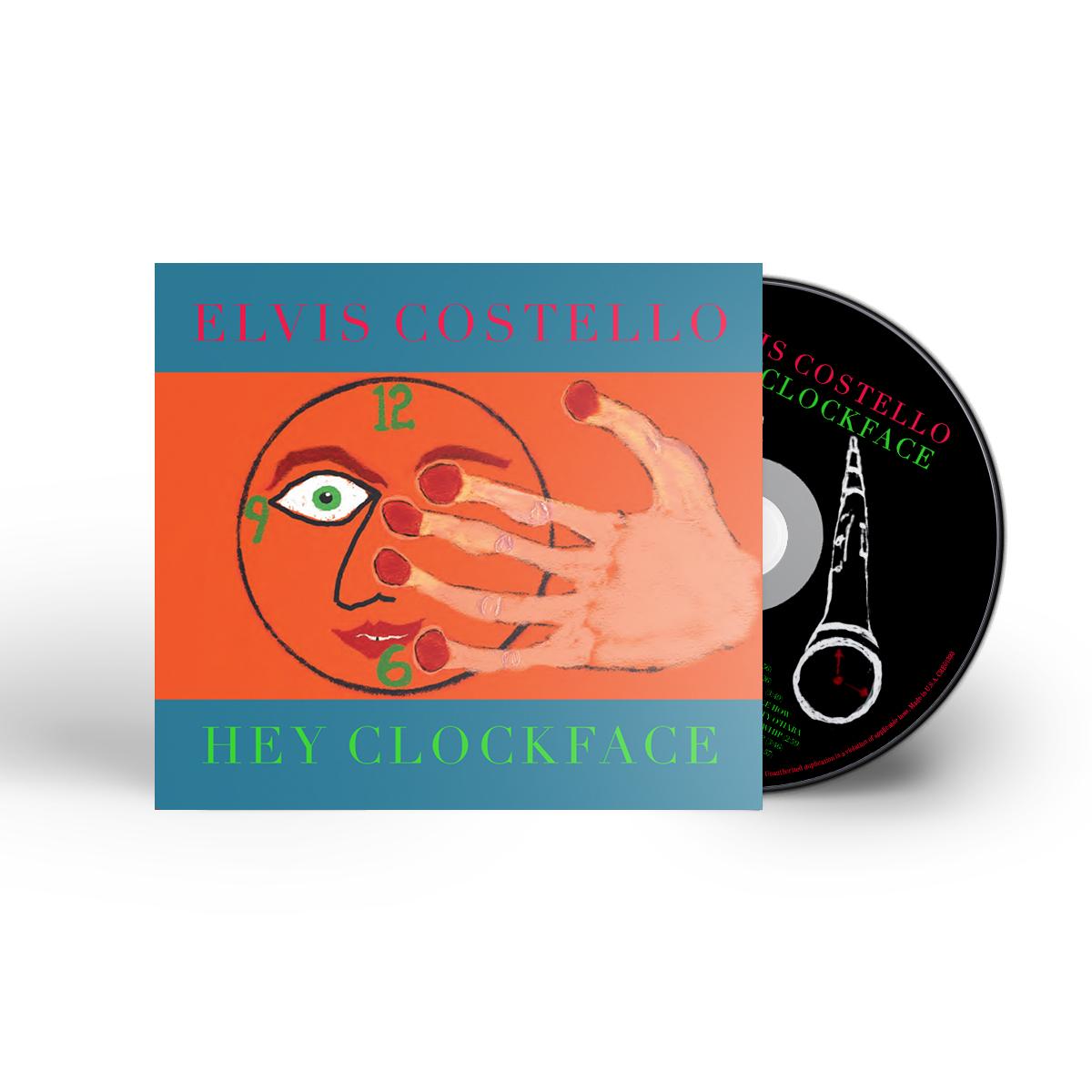 Hey Clockface orange boxers + 2xLP vinyl/CD/download (optional)