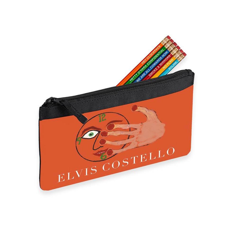 Sketch pad + Pencil Case + Pencil set (6) + Hey Clockface 2xLP/Vinyl/CD/Download (optional)